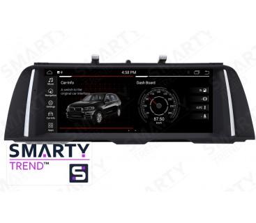 Штатная магнитола BMW 5 Series F10 / F11 (NBT / CIC) - Android 9.0 - SMARTY Trend