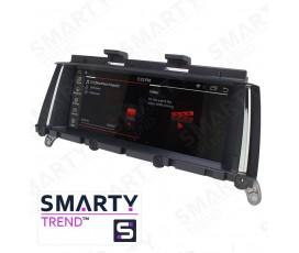 Штатная магнитола BMW X3 Series F25 / X4 F26 - Android 9.0 - SMARTY Trend