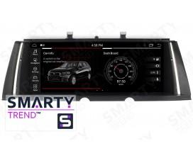 Штатная магнитола BMW 7 Series F01 F02 (2009-2012) CIC - Android - SMARTY Trend