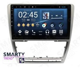 Штатная магнитола Skoda Octavia A5 2004-2013 - Android 8.1 (9.0) - SMARTY Trend