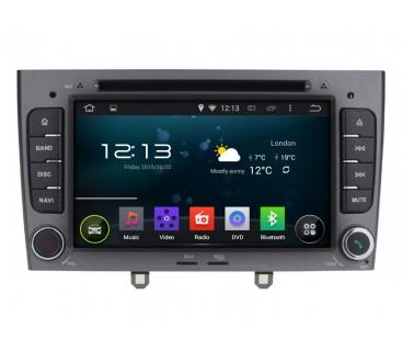 Штатная магнитола Peugeot 408  308 - Android 9.1 - KLYDE