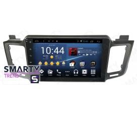Штатная магнитола Toyota RAV4 2013+ - Android 8.1 (9.0) - SMARTY Trend