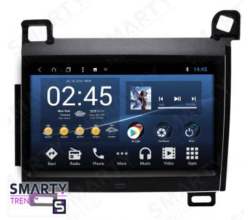 Штатная магнитола Lexus CT 200 - Android 7.1 - SMARTY Trend