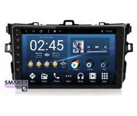 Штатная магнитола Toyota Corolla 2007-2013 - Android 8.1 (9.0) - SMARTY Trend