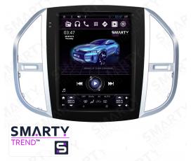Штатная магнитола Mercedes-Benz Vito (Tesla Style) - Android 9.0 - SMARTY Trend