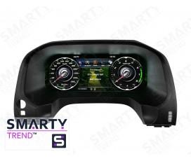 Электронная приборная LCD-панель Toyota Land Cruiser Prado 150 (2009+) - Android 9.0 - SMARTY Trend