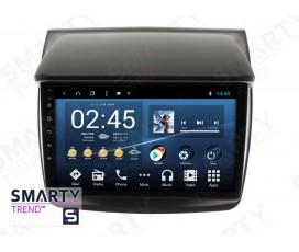 Штатная магнитола Mitsubishi Pajero Sport 2008-2012 - Android 8.1 (9.0) - SMARTY Trend