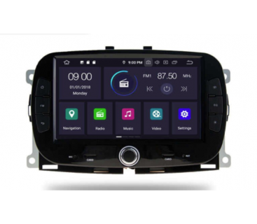 Штатная магнитола Fiat 500 2016-2019 - Android 10.0 - KLYDE