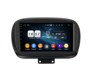 Штатная магнитола Fiat 500 - Android 9 - KLYDE