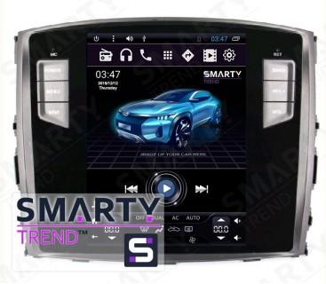 Штатная магнитола Mitsubishi Pajero - Android 9.0 - SMARTY Trend