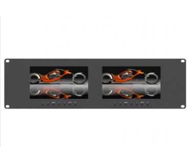 Lilliput - RM-7025 - Двойной 7-дюймовый стоечный монитор 3RU