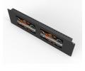 Lilliput - RM-7024 - двойной 7-дюймовый стоечный монитор 3RU