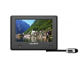 Lilliput 765GL-NP/C/T - резистивный пыленепроницаемый и водонепроницаемый сенсорный монитор 7-дюймов