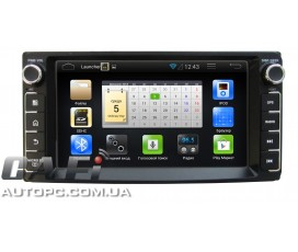 Штатная магнитола Toyota Fortuner 2005-2010 - Android 4 - CA-FI Dashlinq4