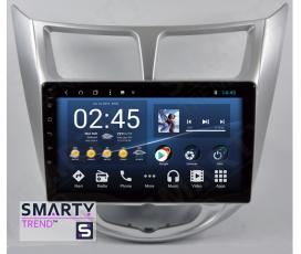 Штатная магнитола Hyundai Accent / Solaris / Verna - Android 8.1 (9.0) - SMARTY Trend