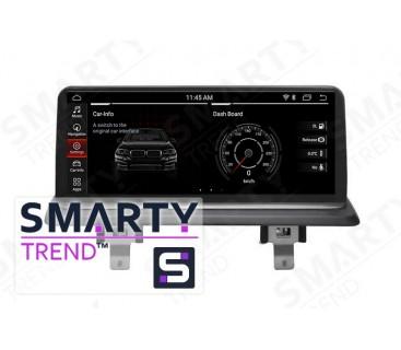 Штатная магнитола BMW 1 Series E81/E82/E87/E88 (2006-2012) iDrive - Android 9.0 - SMARTY Trend
