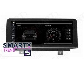 Штатная магнитола BMW 1 and 2 Series F20 / F21 / F23 - Android 9.0 - SMARTY Trend