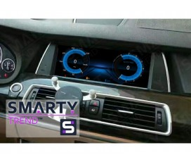 Штатная магнитола BMW 5 Series (F07) - Android 9.0 (10.0) - SMARTY Trend