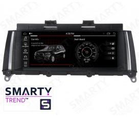Штатная магнитола BMW X3 Series F25 / X4 Series F26 (2011-2013)  - Android - SMARTY Trend