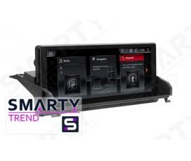Штатная магнитола BMW X5 F15 (2014-2016) NBT - Android 9.0 (10.0) - SMARTY Trend