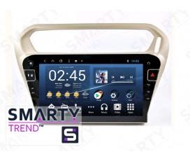 Штатная магнитола Peugeot 301 - Android 8.1 (9.0) - SMARTY Trend