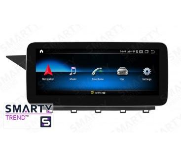 Штатная магнитола Mercedes C-Class (W204) - Android 9.0 - SMARTY Trend