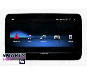 Штатная магнитола Mercedes Benz ML-Class (W166) 2008-2012 - Android 9.0 (10.0) - SMARTY Trend