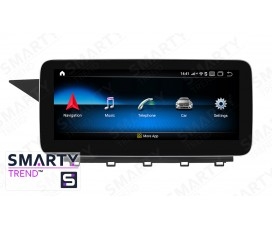 Штатная магнитола Mercedes Benz GLK-Class 2008-2014 - Android 9.0 (10.0) - SMARTY Trend