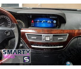 Штатная магнитола Mercedes S-Class (w221) - Android 10.1 - SMARTY Trend