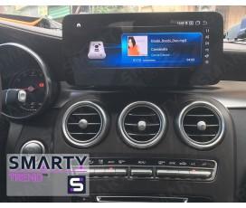 Штатная магнитола Mercedes-Benz GLC-Class (X253) 2015+ - Android 9.0 (10.0) - SMARTY Trend