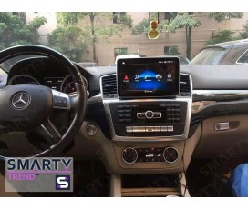 Штатная магнитола Mercedes Benz ML-Class (W166) 2008-2012 - Android 9.0 (10.0) - SMARTY Trend