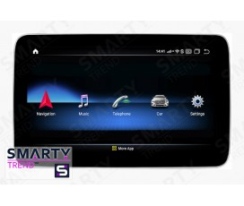 Штатная магнитола Mercedes-Benz SLK-Class 2010+ (SLK/SL/SLC) - Android 9.0 (10.0) - SMARTY Trend