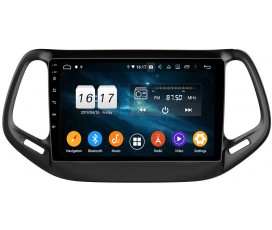 Штатная магнитола Jeep Compass - Android 9 - KLYDE