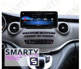 Штатная магнитола Mercedes Benz B-Class (w246) 2012+ - Android 9.0 (10.0) - SMARTY Trend