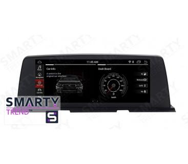 Штатная магнитола BMW 6 Series F06/F12/F13 (2010-2012) CIC 4PIN - Android 10 - SMARTY Trend