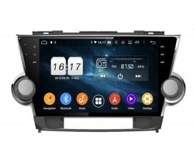 Штатная магнитола Toyota Highlander 2007-2014 - Android 10 - KLYDE
