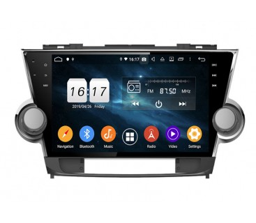 Штатная магнитола Toyota Highlander 2007-2014 - Android 5.1.1 - KLYDE