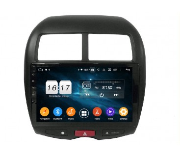 Штатная магнитола Mitsubishi ASX 2010-2012 - Android 5.1.1 - KLYDE