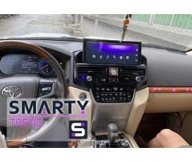 Штатная магнитола Toyota Land Cruiser 200 2015+ - Android Android 10 - SMARTY Trend
