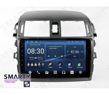 Штатная магнитола Toyota Corolla 2007-2013 – Android 10 – SMARTY Trend