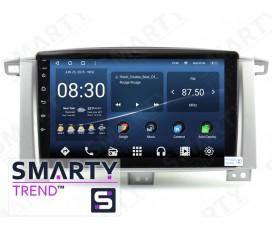 Штатная магнитола Toyota Land Cruiser 100 GX – Android – SMARTY Trend