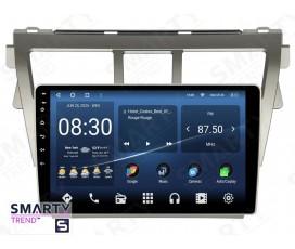 Штатная магнитола Toyota Yaris 2005-2013 – Android – SMARTY Trend