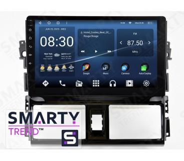 Штатная магнитола Toyota Yaris 2013+ – Android 10 – SMARTY Trend