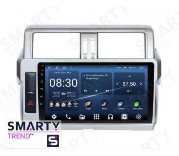 Штатная магнитола Toyota Land Cruiser Prado 150 2014-2017 – Android 10 – SMARTY Trend
