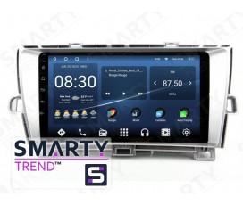 Штатная магнитола Toyota Prius 2012 – Android – SMARTY Trend