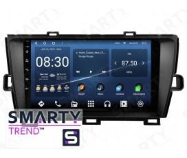 Штатная магнитола Toyota Prius RHD 2012 – Android – SMARTY Trend