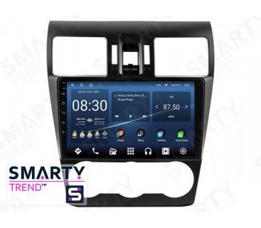 Штатная магнитола Subaru Forester 2013-2014 – Android 10 – SMARTY Trend