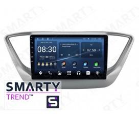 Штатная магнитола Hyundai Accent / Solaris / Verna 2017+ – Android – SMARTY Trend