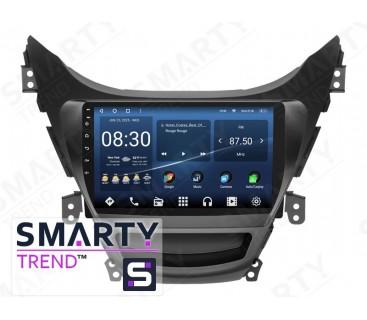 Штатная магнитола Hyundai Elantra 2010-2013 – Android 10 – SMARTY Trend
