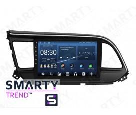 Штатная магнитола Hyundai Elantra 2019+ – Android – SMARTY Trend